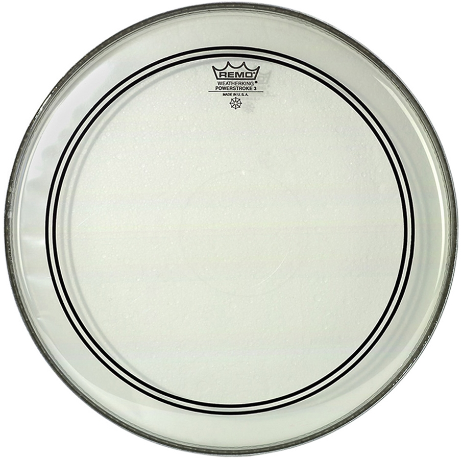 """REMO 20"""" PowerStroke 3 Clear"""