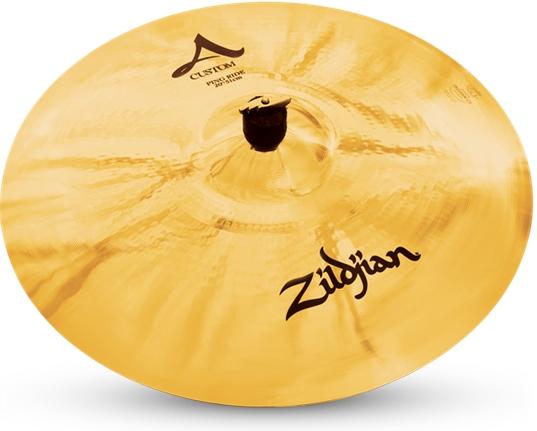"""ZILDJIAN 20"""" A Custom ping ride"""