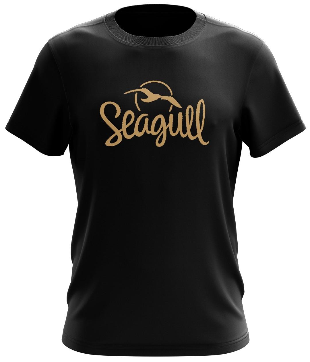 SEAGULL Logo T-Shirt Black L