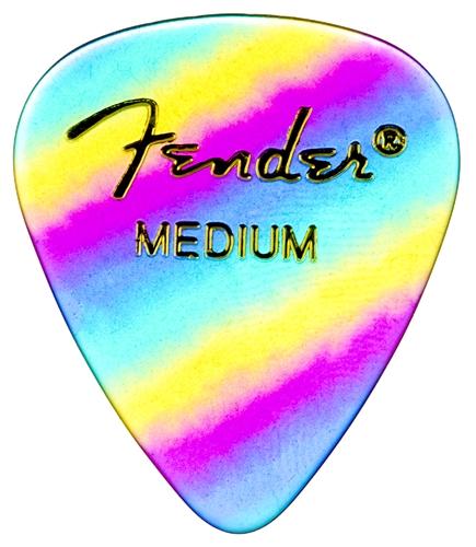 FENDER 351 Premium Medium Rainbow