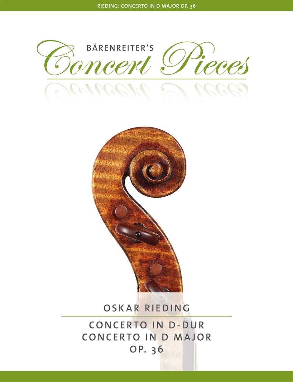 KN Koncert D dur op. 36 - Oskar Rieding