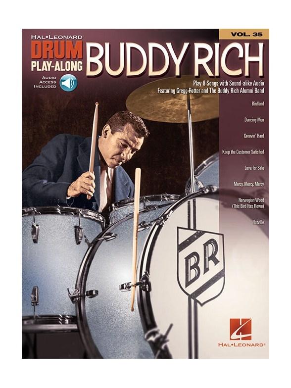 MS Drum Play-Along Volume 35: Buddy Rich