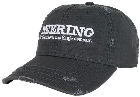 DEERING HAT- Deering Distressed Grey Hat