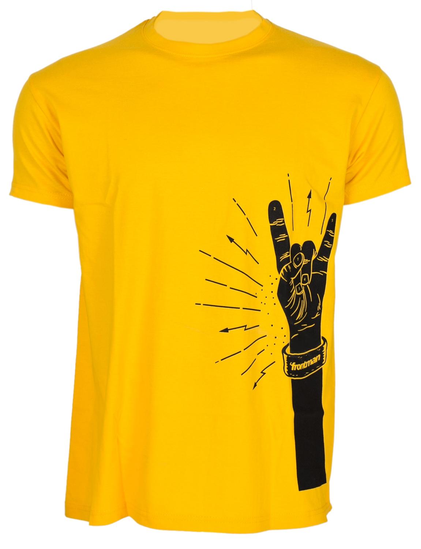FRONTMAN Tričko žluté L