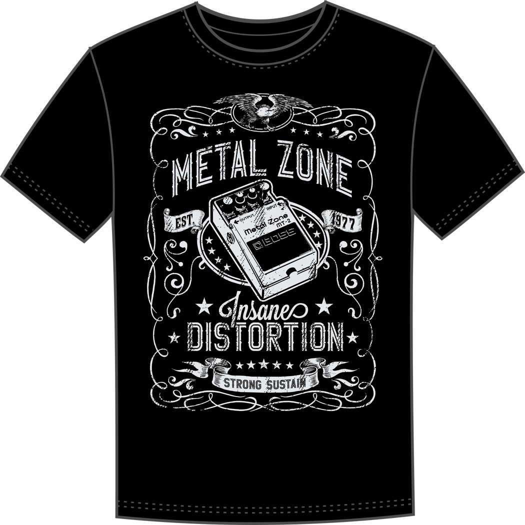 BOSS MT-2 crew T-shirt L black