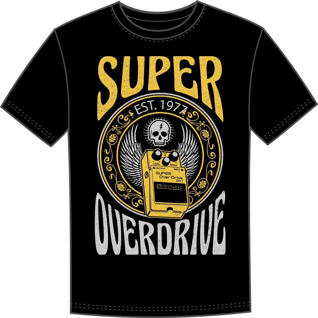 BOSS SD-1 crew T-shirt XL black