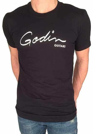 GODIN Logo T-Shirt Black M