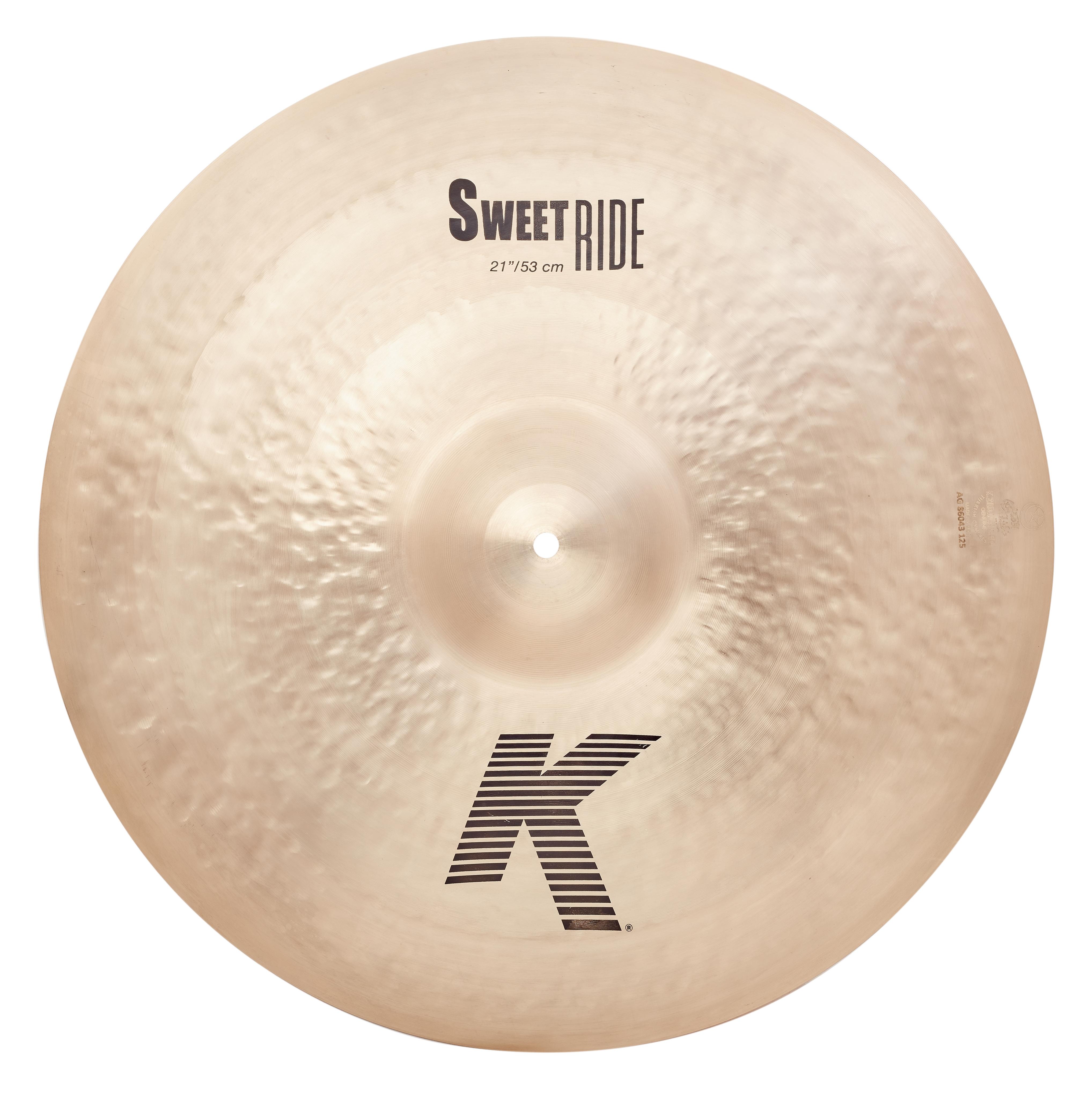 """ZILDJIAN 21"""" K Sweet Ride"""