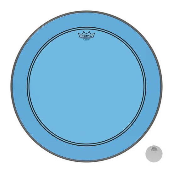 """REMO 22"""" Powerstroke 3 Colortone Blue"""