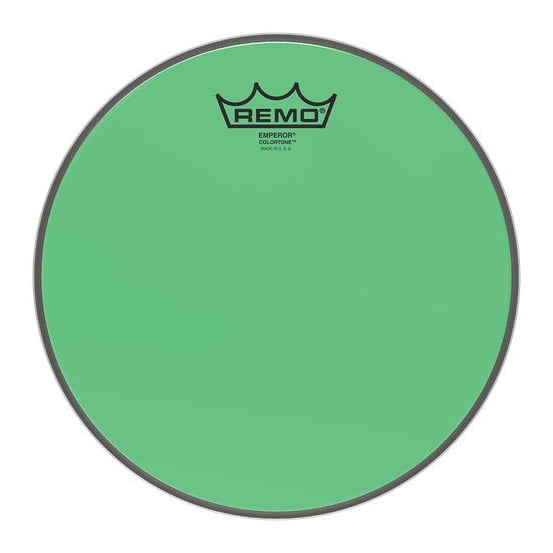 """REMO 10"""" Emperor Colortone Green"""