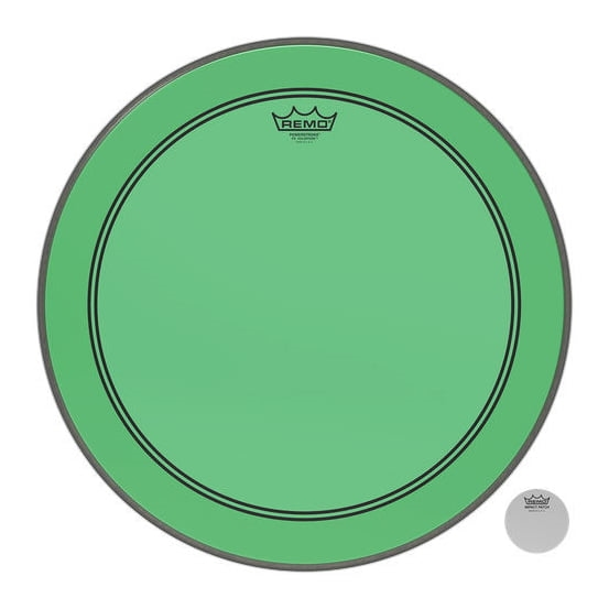 """REMO 22"""" Powerstroke 3 Colortone Green"""