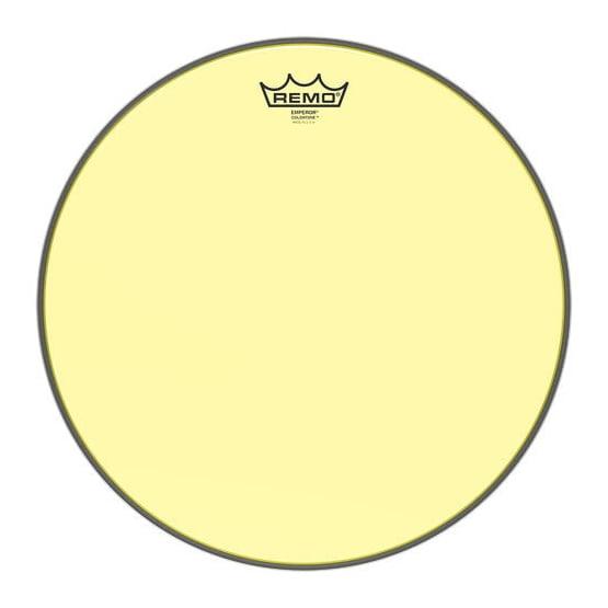 """REMO 14"""" Emperor Colortone Yellow"""
