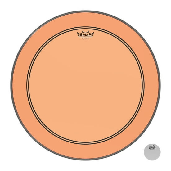 """REMO 20"""" Powerstroke 3 Colortone Orange"""