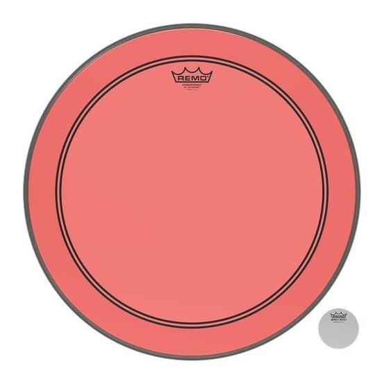 """REMO 22"""" Powerstroke 3 Colortone Red"""