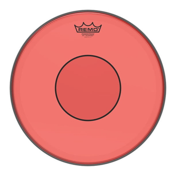 """REMO 14"""" Powerstroke 77 Colortone Red"""
