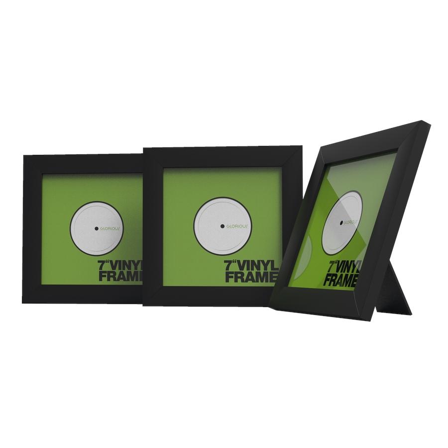 "GLORIOUS Vinyl Frame Set 7"" Black"