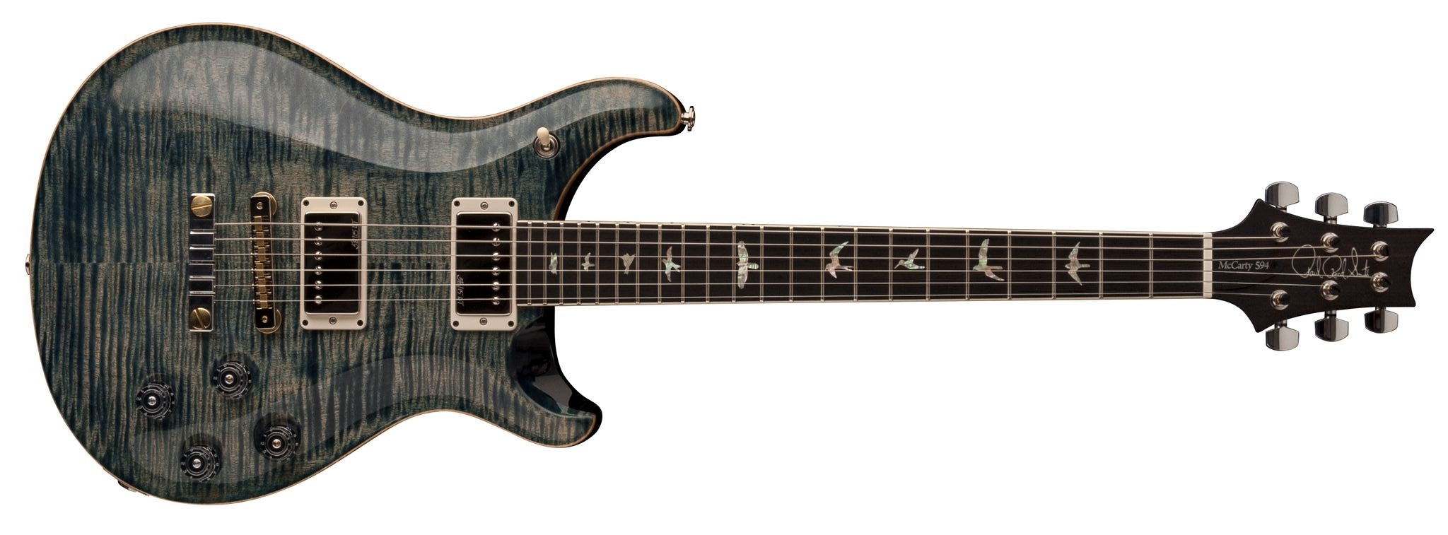 PRS McCarty 594 Pattern Vintage Faded Whale Blue
