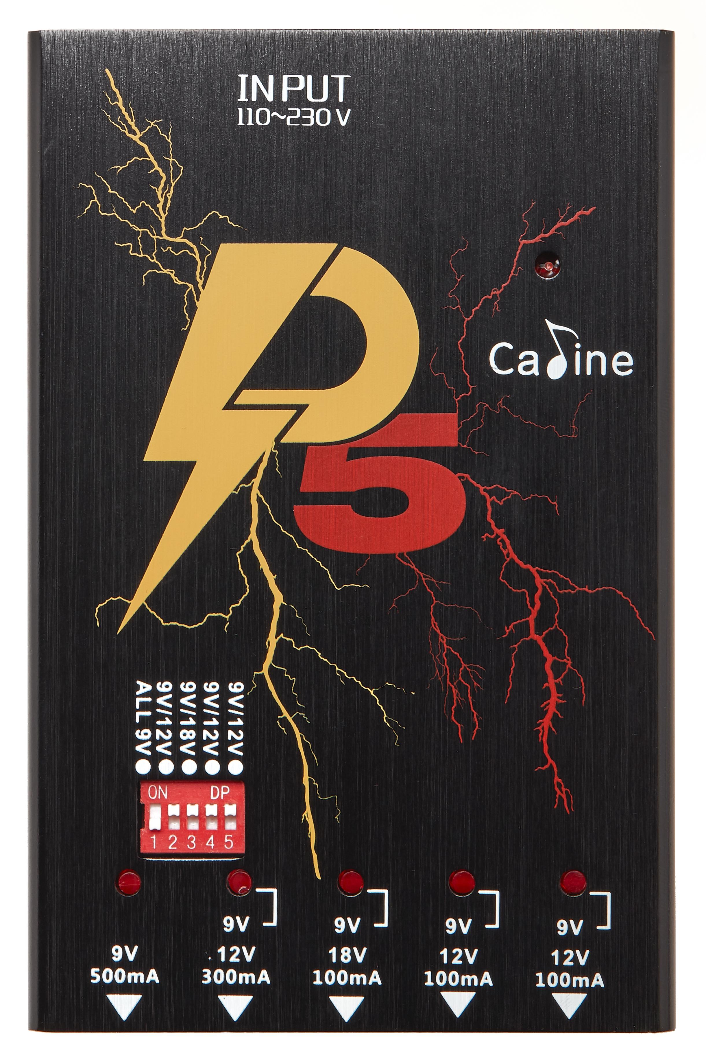"CALINE P5 ""Pedal Power"""