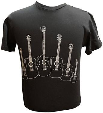 MARTIN T-Shirt Guitar Models XL