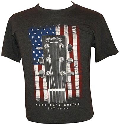 MARTIN T-Shirt American Flag XXXL