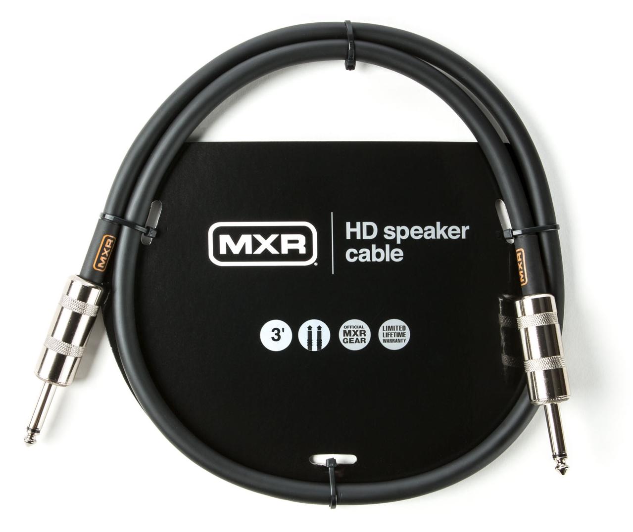 DUNLOP MXR Speaker Cable TS HD 3FT