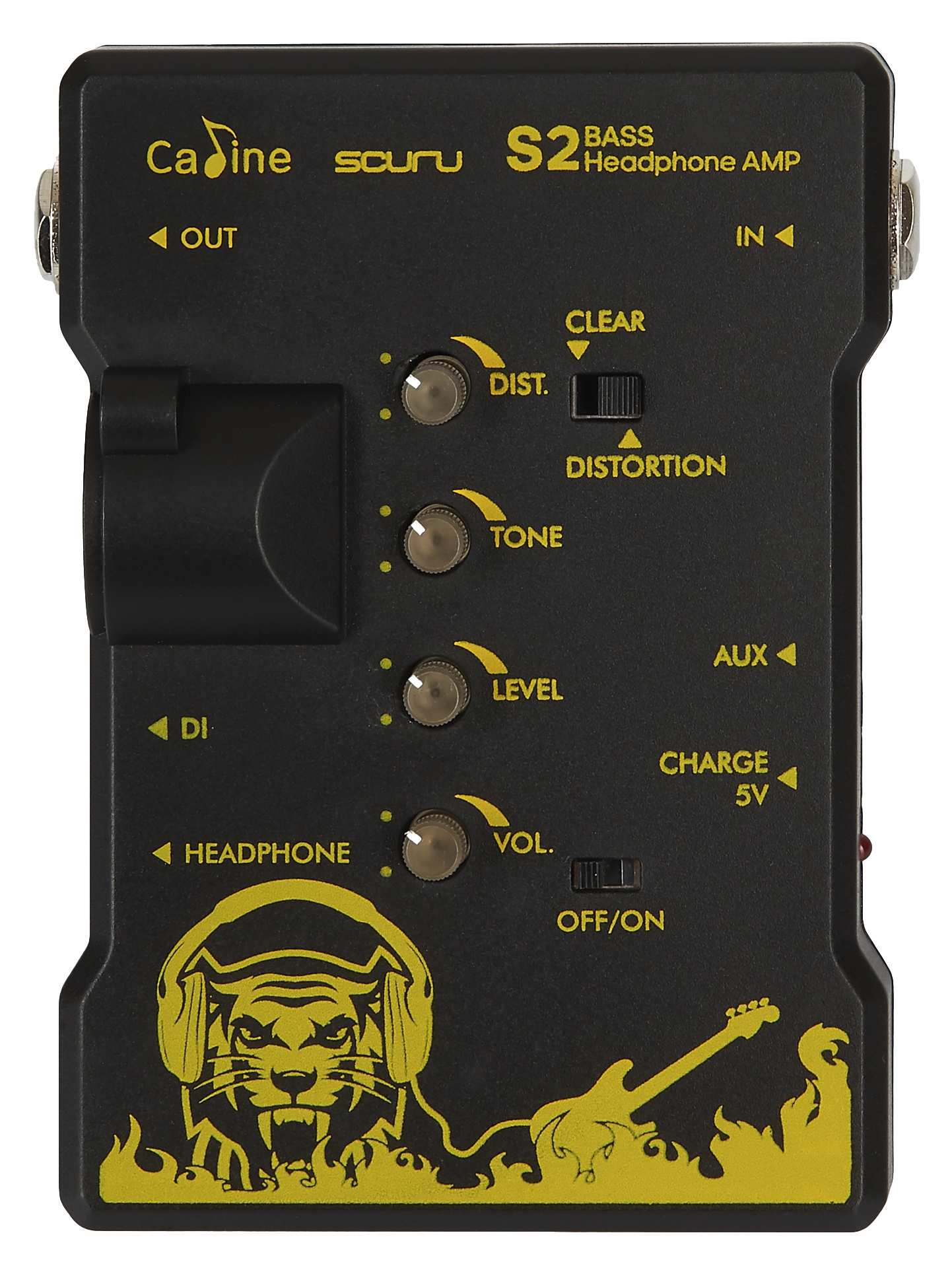 CALINE S2B Scuru Bass Headphone Amp