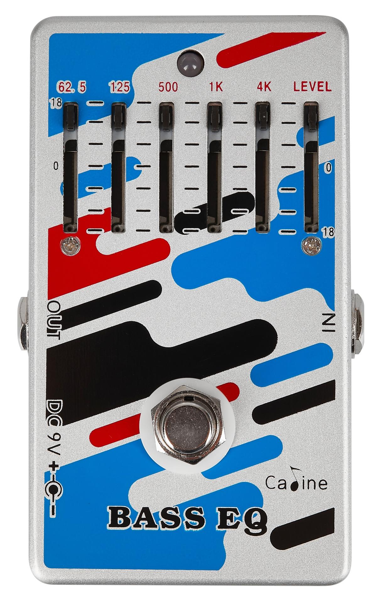 CALINE CP-73 4-Band Bass EQ