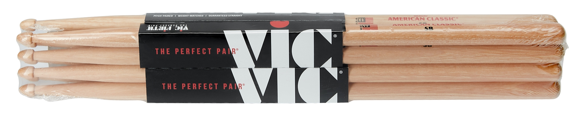 VIC FIRTH 5B 4 Pack