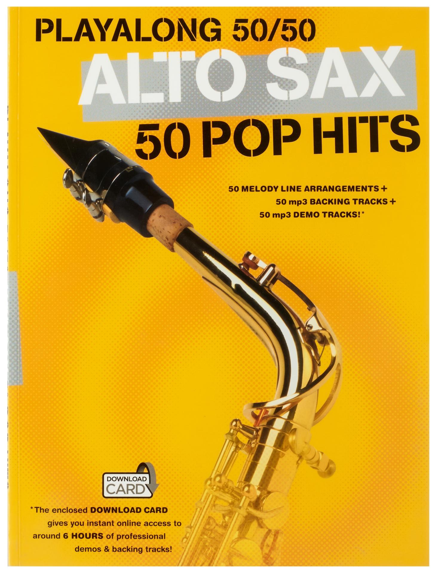 MS Playalong 50/50: Alto Sax - 50 Pop Hits