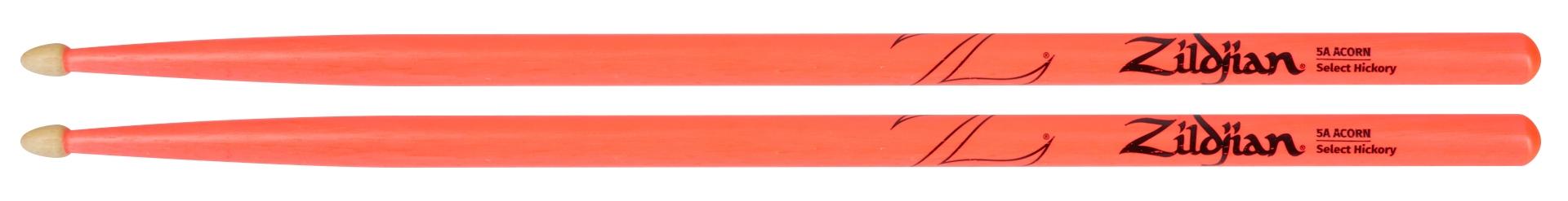 ZILDJIAN 5A Acorn Wood Neon Pink
