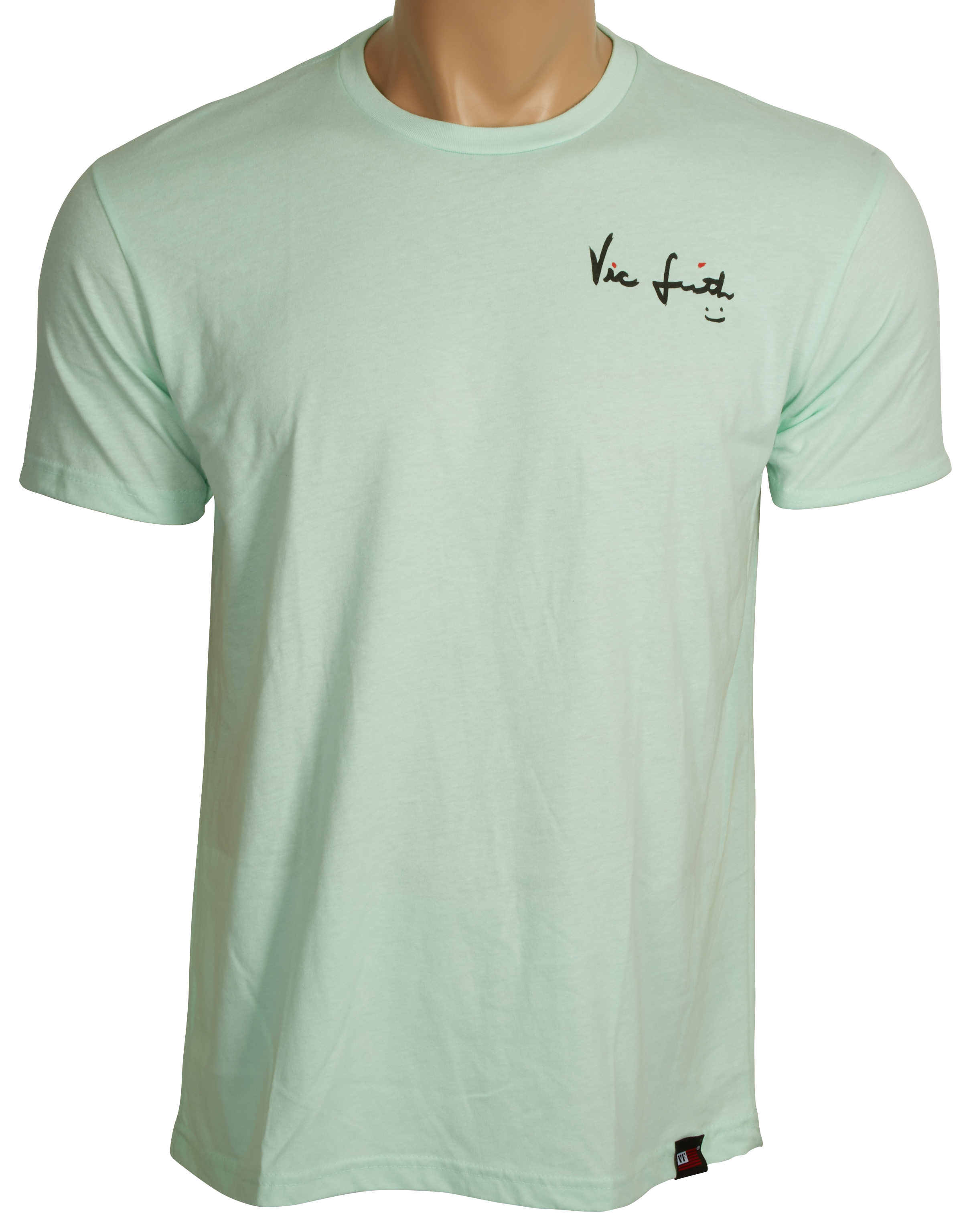 VIC FIRTH Neo Mint Signature Tee Small