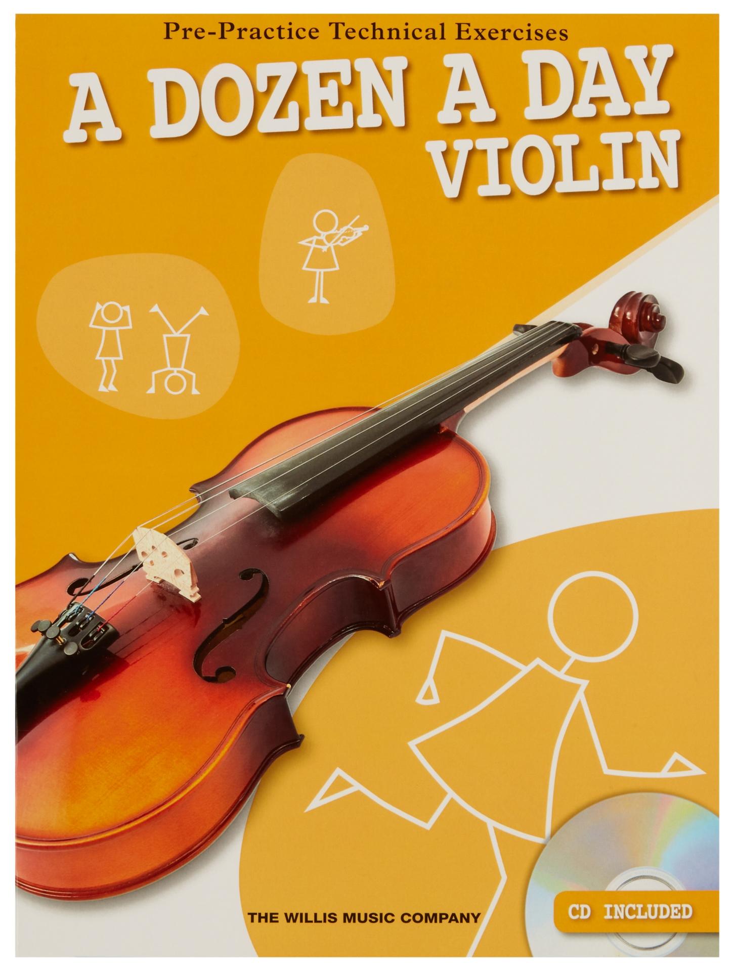 MS A Dozen A Day - Violin