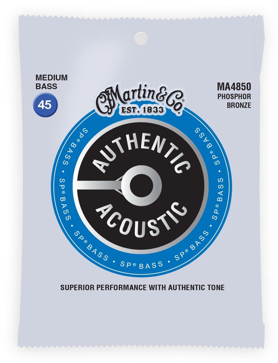 MARTIN Authentic Bass Strings Medium