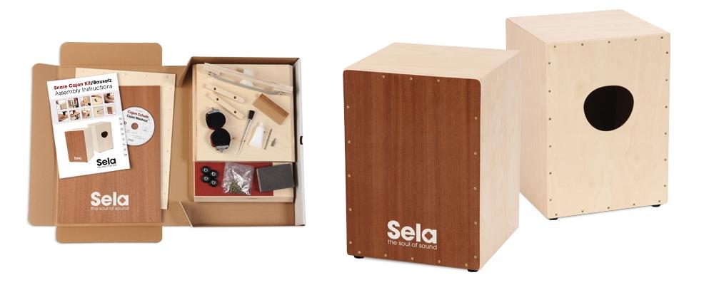 SELA Snare Cajon Kit Medium