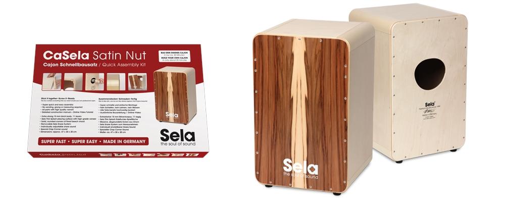 SELA CaSela Quick Assembly Kit - Satin Nut