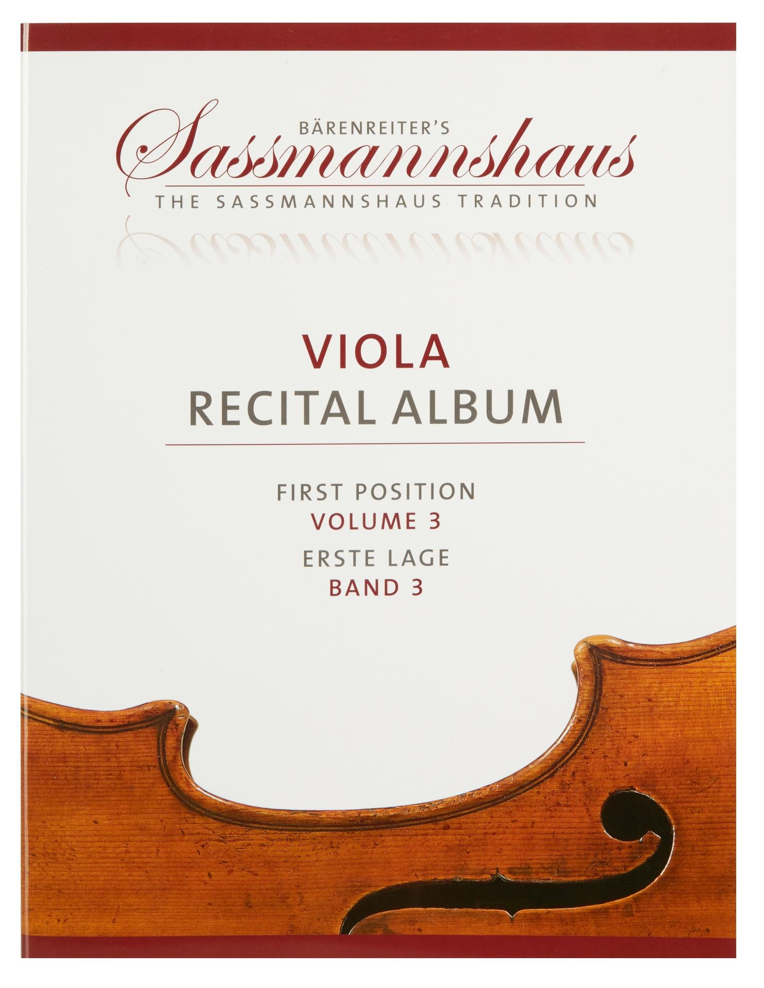 KN Viola Recital Album, svazek 3