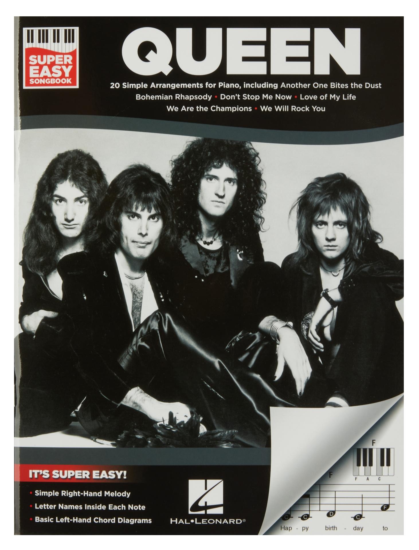 MS Super Easy Songbook - Queen