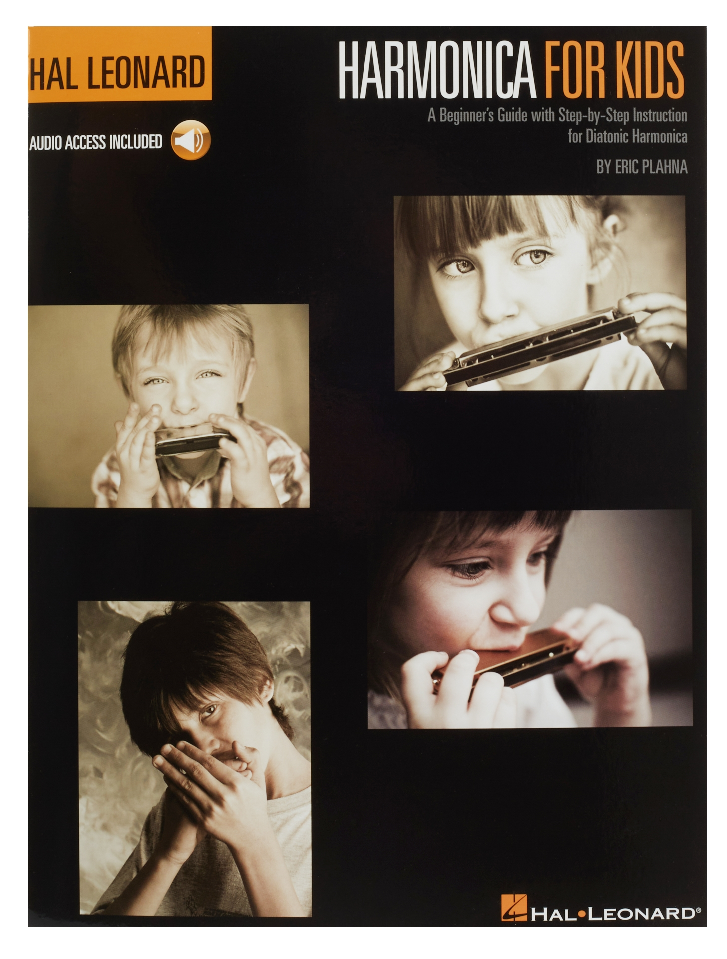 MS Harmonica For Kids: A Beginner's Guide With Step-by-Step Instruction For Diatonic Harmonica