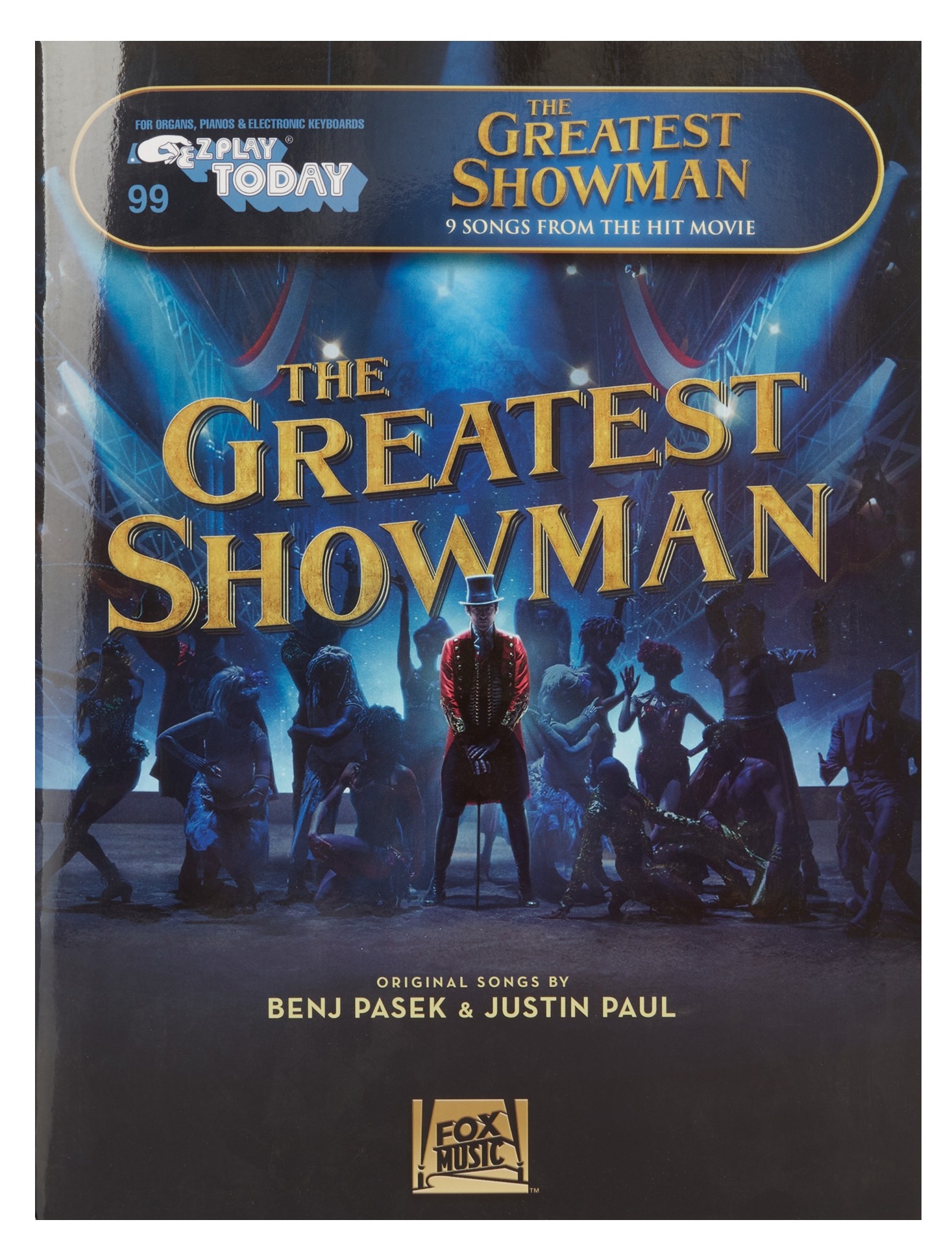 MS E-Z Play Today Volume 99: The Greatest Showman