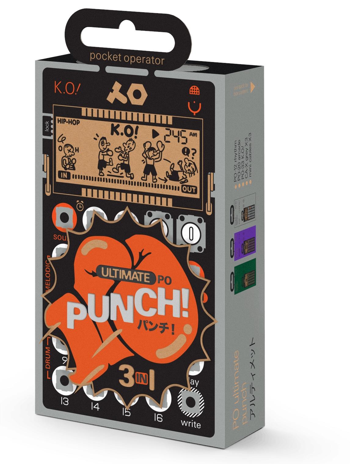 TEENAGE ENGINEERING PO Ultimate Punch