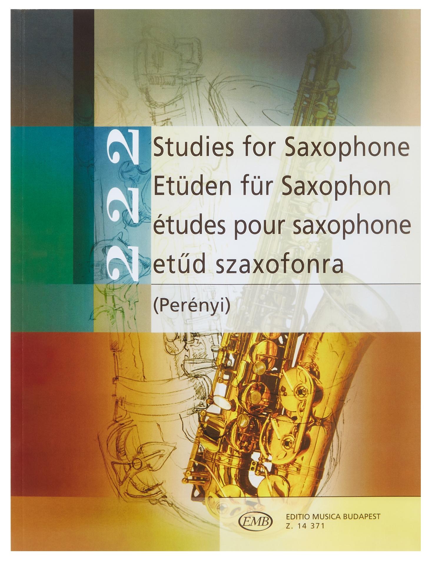 KN 222 Studies for Saxophone