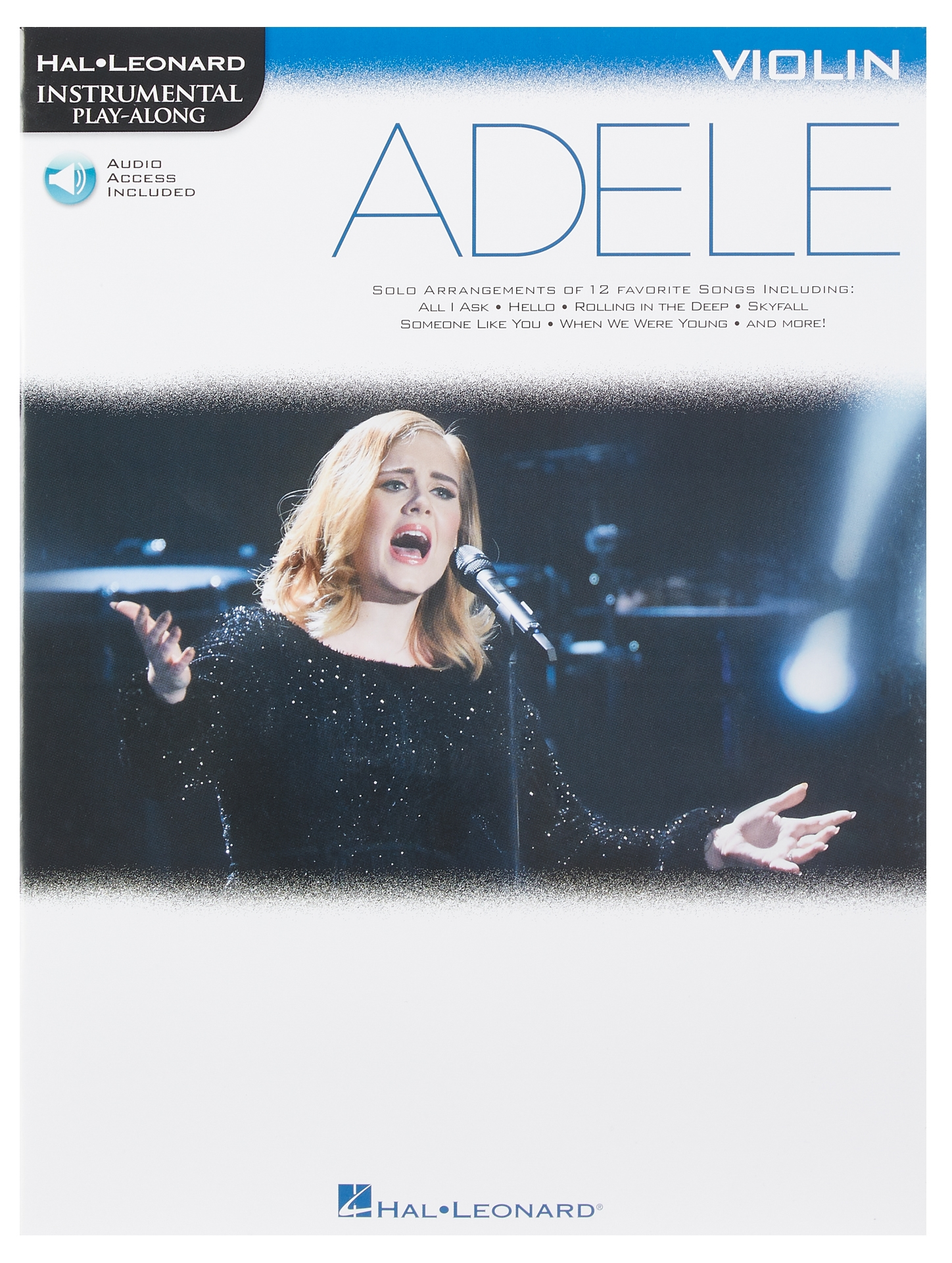 MS Hal Leonard Instrumental Play-Along: Adele - Violin