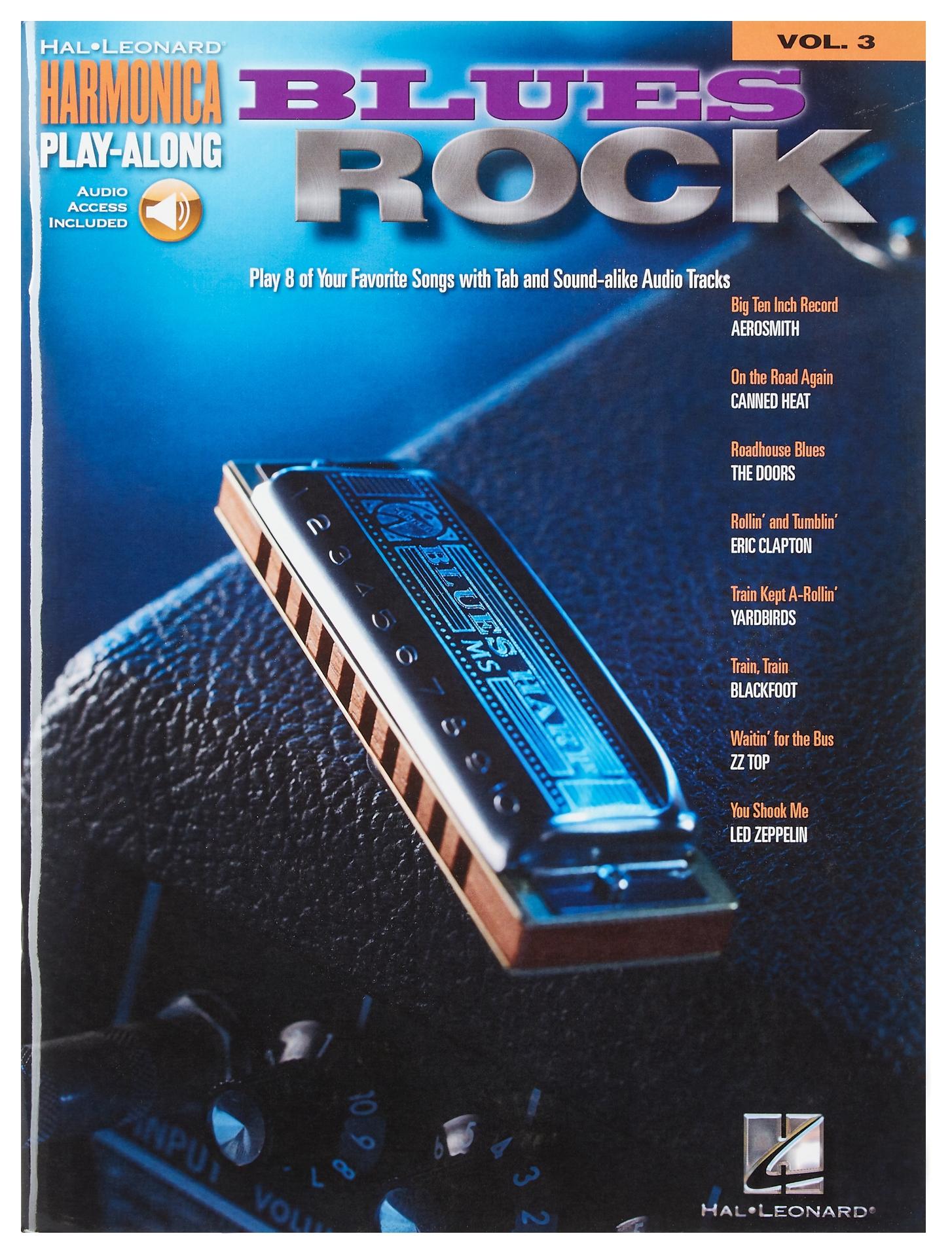 MS Harmonica Play-Along Volume 3: Blues Rock
