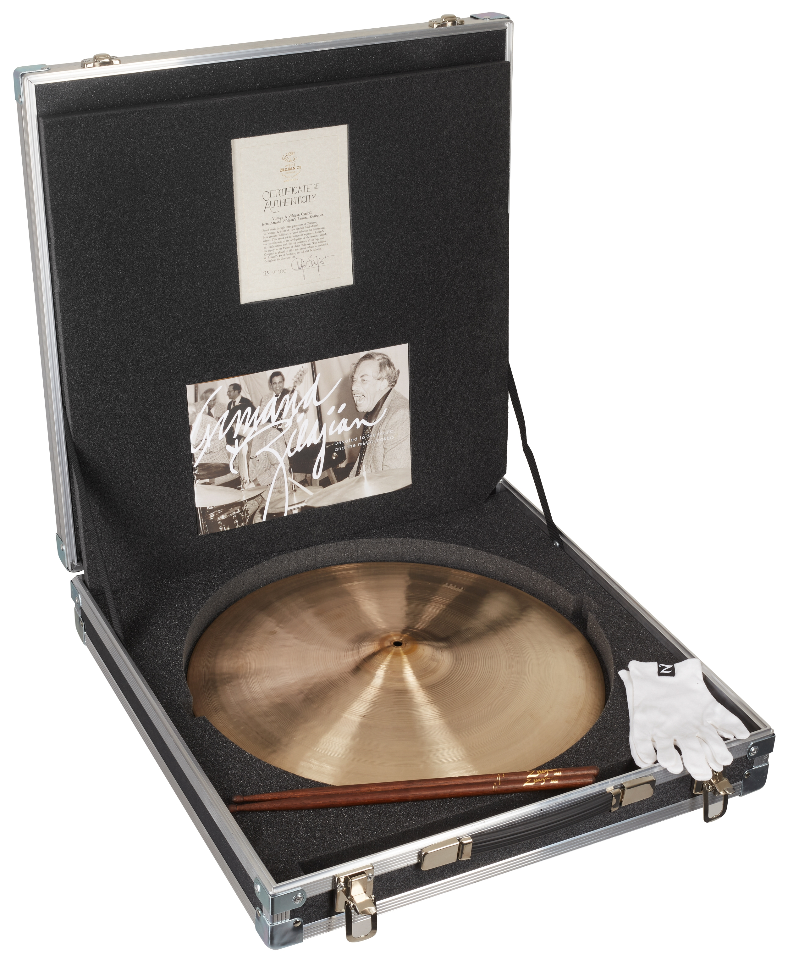 "ZILDJIAN 20"" Vintage Armand Zildjian Personal Collection"