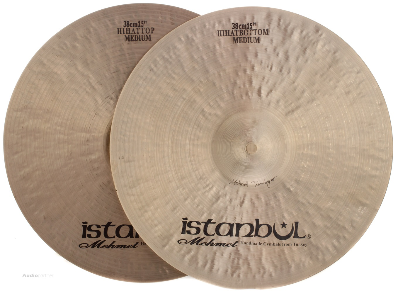 "ISTANBUL MEHMET 15"" Traditional Medium hi-hat Činely hi-hat"