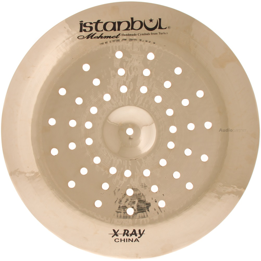 "ISTANBUL MEHMET 18"" Radiant X-RAY China Činel china"