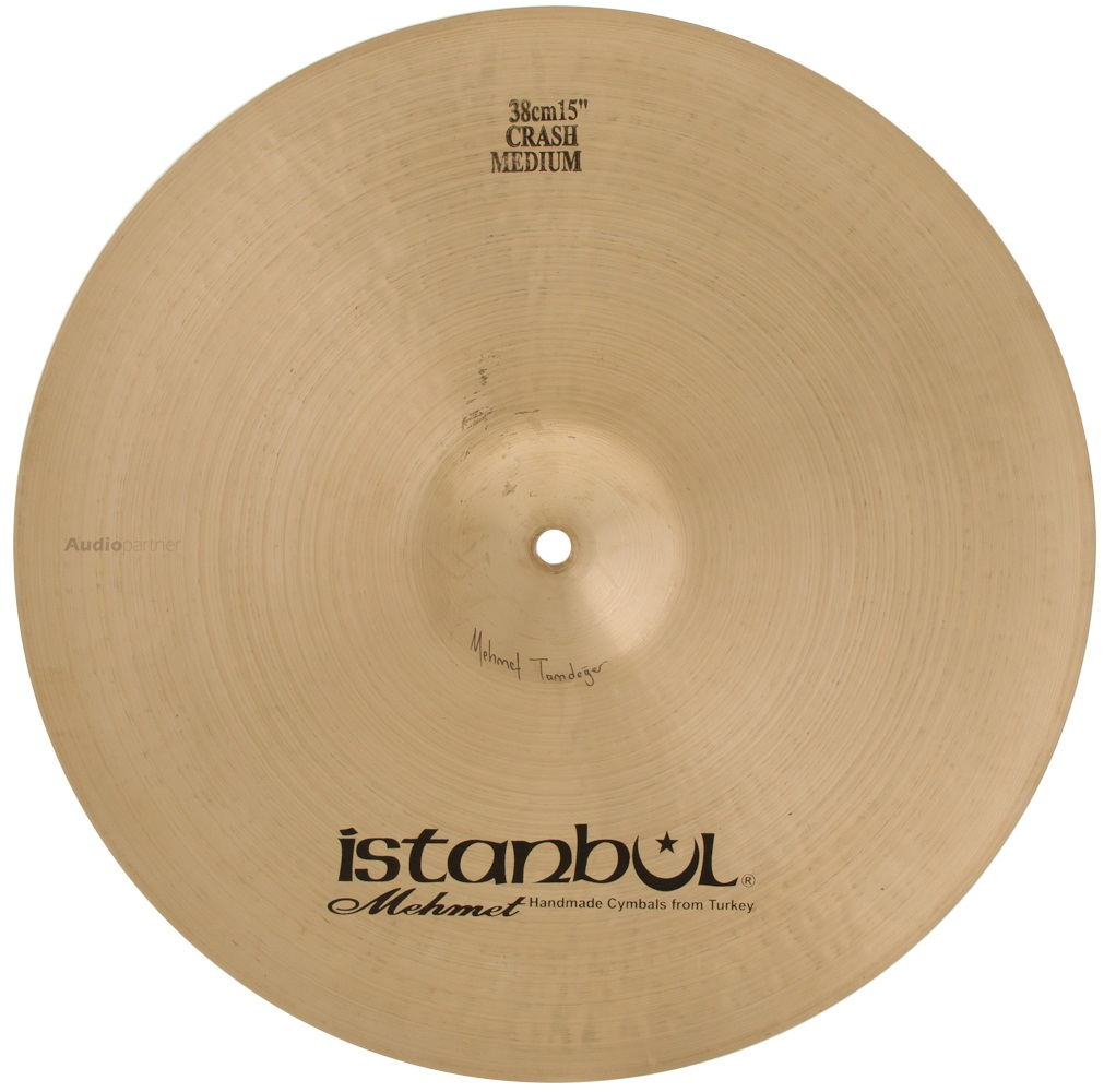 "ISTANBUL MEHMET 15"" Traditional Medium crash Činel crash"
