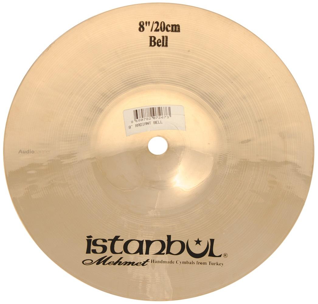 """ISTANBUL MEHMET 8"""" Radiant bell Činel Bell"""