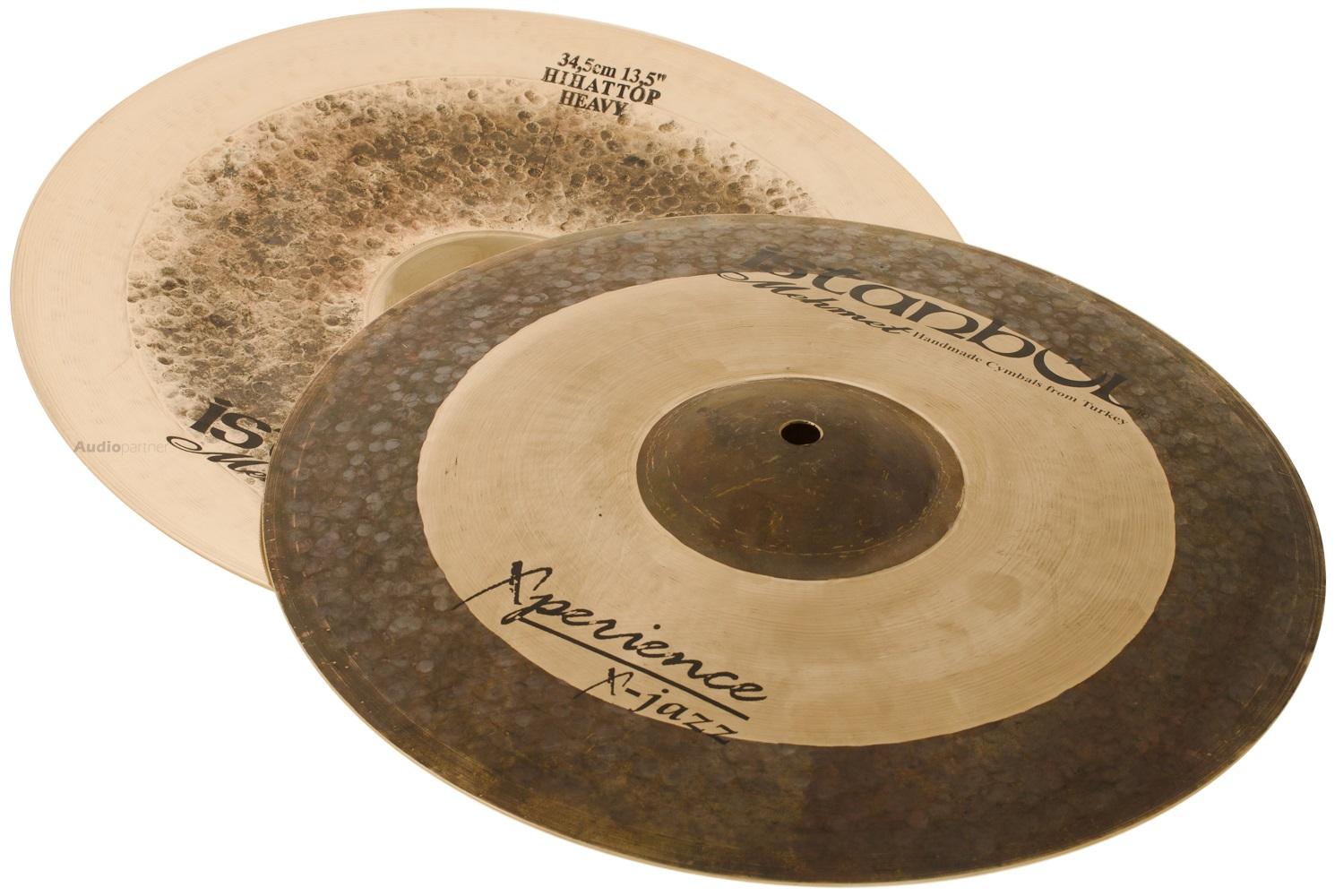 "ISTANBUL MEHMET 13,5"" Xperience X-Jazz Fusion Medium hi-hat Činely hi-hat"