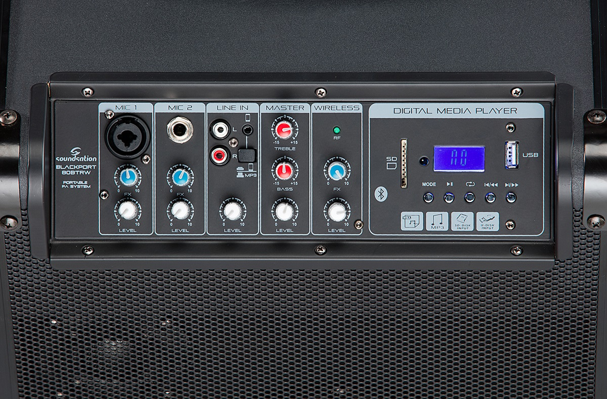 SOUNDSATION BLACKPORT-80BTRW